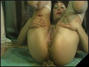 She only shit once a week  Very nice foreplay- [Scat solo, shit, defecation, Pissing, Big Shit, Dirty Ass]