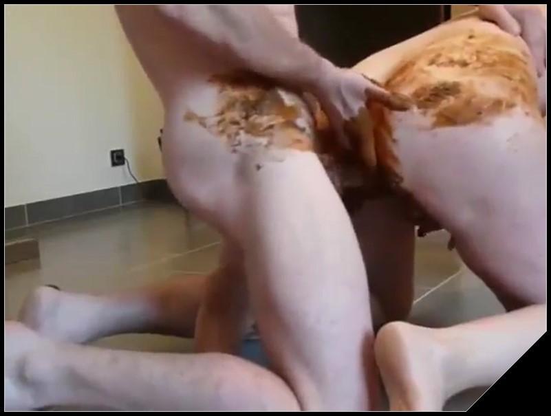 Very nice Shitfuck Scat sex shit sex Smearing Masturbation cover - Very nice Shitfuck -[Scat sex, shit sex, Smearing, Dirty anal,  Masturbation]