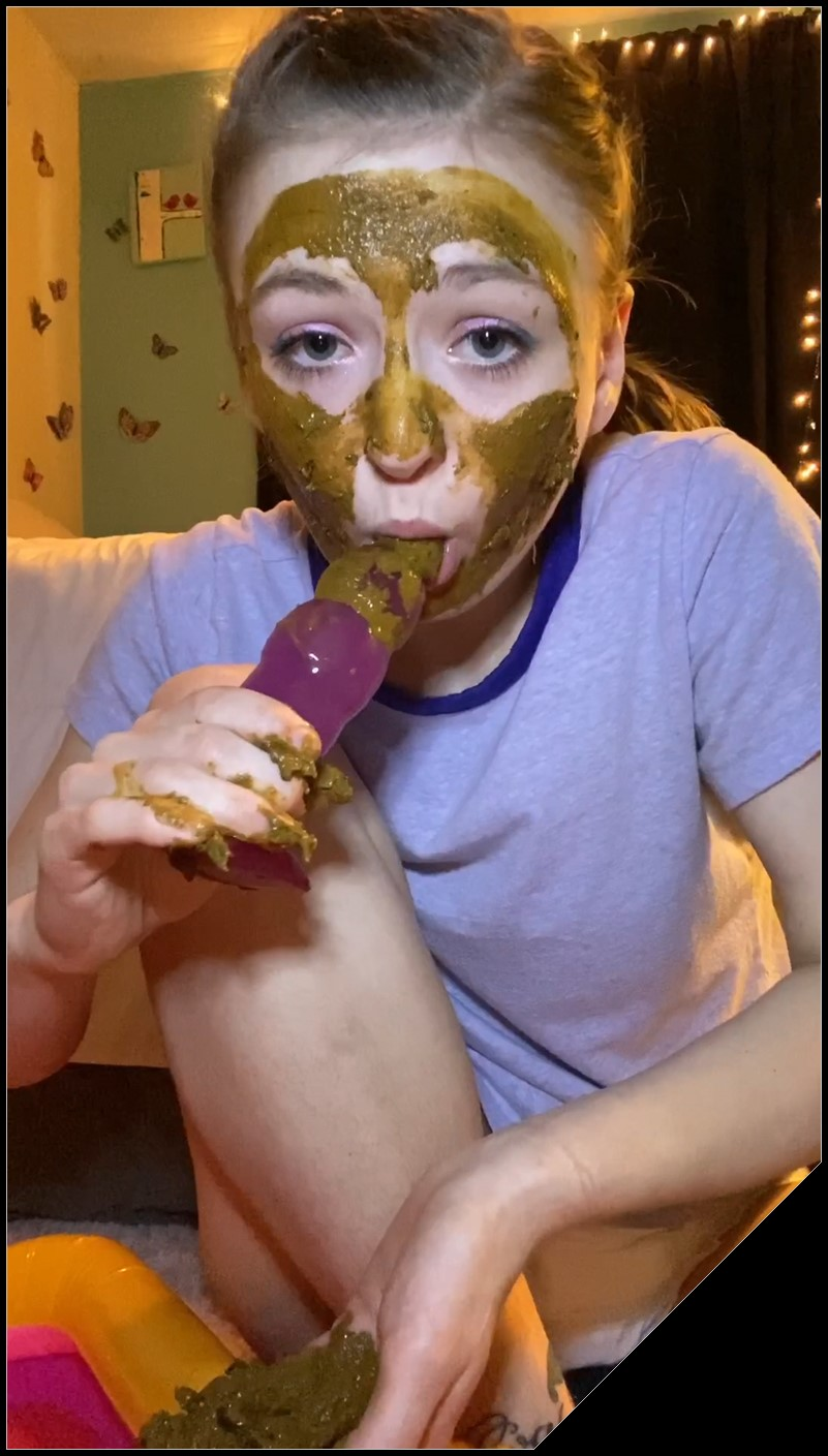 Sexandcandy18-1 [Scat, shit, defecation, Smearing, Shit pampers, Masturbation,  Eat shit ]