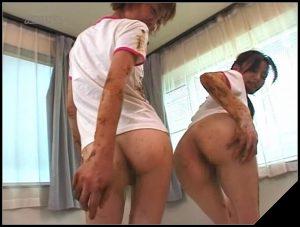 ARMD-386 [Scat Lesbians, shit,  pissing, Smearing,Lick ass,  Eat shit, Drink pee, Masturbation]