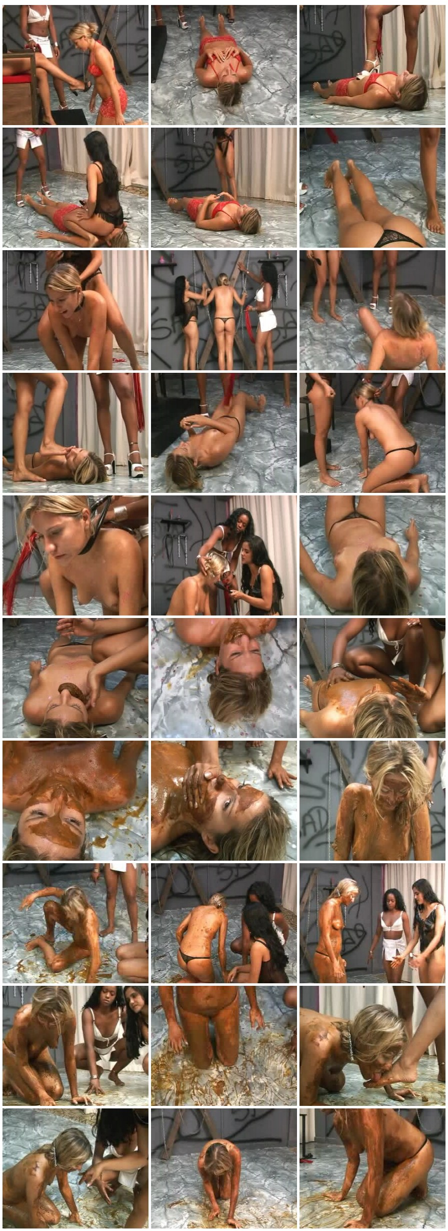 Sd-058 slave s lunch time [[Scat Lesbians, shit, defecation, pissing, Smearing,Lick ass, Facesitting, Domination, Eat shit, Drink pee, Masturbation,Vomiting ]