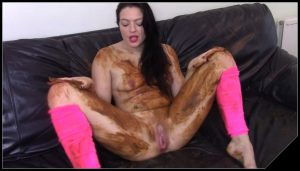 EvaMarie88 – Poo, Fart On Sofa And Get Messy [Scat solo, shit, defecation, , Big Shit, Dirty anal, Smearing, Dirty Ass, Masturbation]