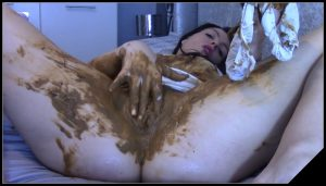 EvaMarie88 – Scat Inside My Pussy Drives Me Wild [Scat solo, shit, defecation, Dirty anal, Masturbation, Panty pooping, Big Shit, Smearing, Pissing, Fisting, Dildo masturbation]