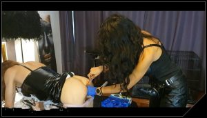Mistress Antonella and her sissy maid [Scat, pissing, Femdom ,Domination,Humiliations, Oral-Anal Sex, Drink pee]
