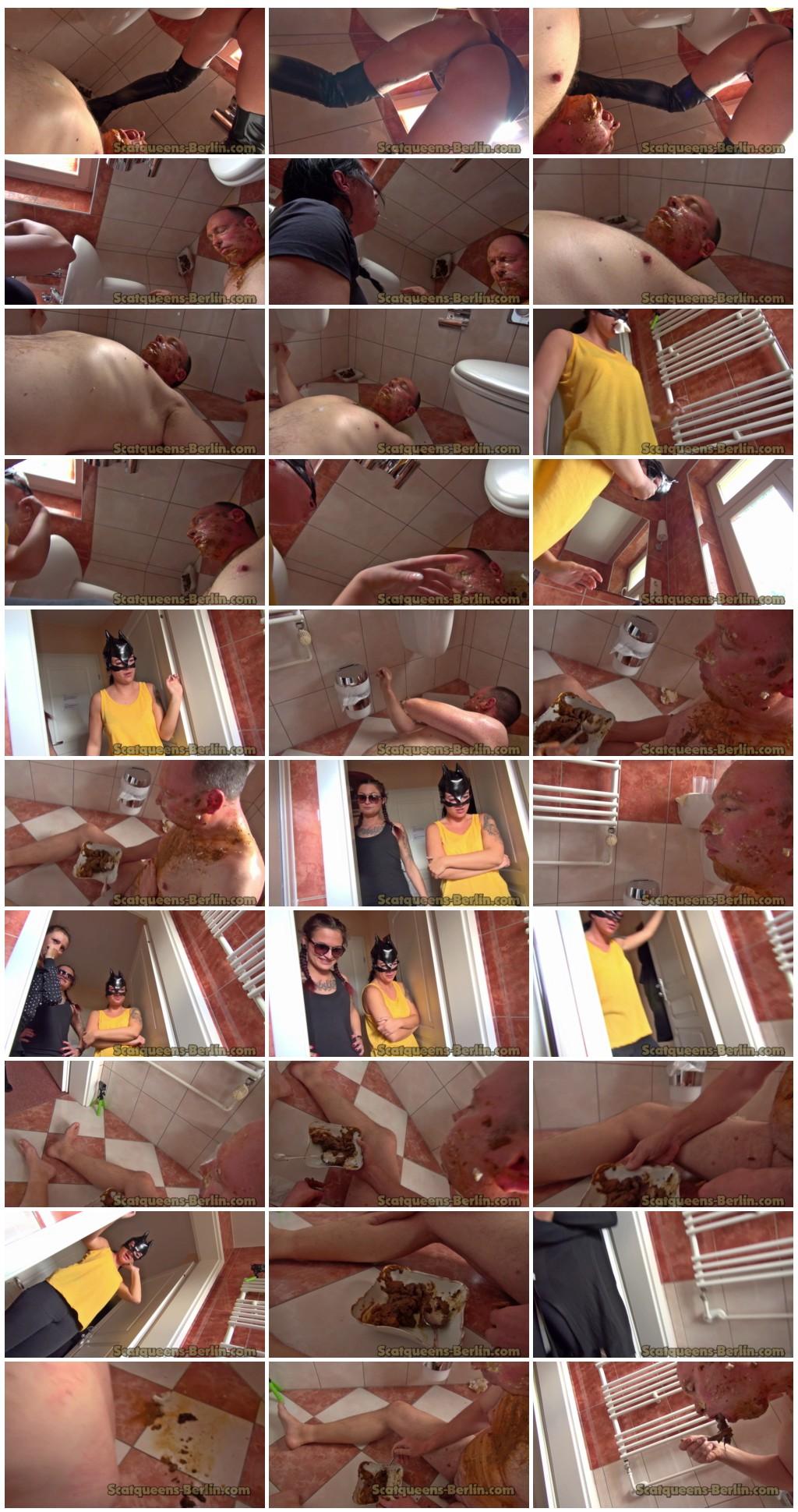 4 Scatqueens 1 Slave P3 Scat pissing shit defecation Femdom Toilet SlaveryFace shitFingeringDomination Eat shit HumiliationsLicking Drink peespitting Vomiting thumb - 4 Scatqueens 1 Slave P3 [Scat, pissing, shit,  Femdom ,Toilet Slavery,Fingering,Domination, Eat shit , Humiliations,Licking, Drink pee,spitting, Vomiting]