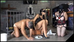 Mistress Gaia -Sharing my special meal [Scat, pissing, shit, defecation, Femdom ,Face shit,Fingering,Domination, Eat shit , Humiliations,Licking]