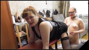 Mistress Natalia Kapretti 4289 [Scat Lesbians, shit, spitting,Dirty Ass, Masturbation,Licking,Lesbian sex,Domination, Eat shit , Humiliations]