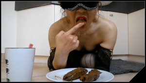 How Much Did You Eat,JapScatSlut [Scat solo, shit, defecation, shit in mouth, Eat shit]