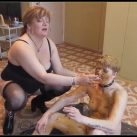 Shit on Kat head, doing from her, toilet [Scat Lesbians, ,Oral-Anal Sex, Smearing,Masturbation,pissing, shit, Toilet Slavery,Licking]