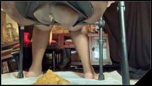 CountessDionysus –  Desperate Ass Poop 3 [Scat solo, shit, defecation, Farting, Diarrhea]