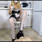 Horny Maid Shit On [Scat,   shit, defecation, Femdom ,Toilet Slavery, Domination,shit eating ,Big Shit,Dirty Ass, Humiliations,Licking]