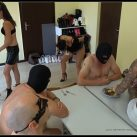 Lady Domi Miss Jane -Lady Chantal - Dirty vomit and shit session [Scat, pissing, shit,   Femdom ,Toilet Slavery, Fingering,Domination,shit eating , Humiliations,Licking, piss drinking,spitting]
