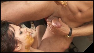 Gentlemens Toilett  N 2 – Eat all my scat little Julie [Scat sex, shit sex,Dirty Sucking Dick,Dirty Anal, shit, defecation, Toilet Slavery, face in shit ,Smearing,Blowjob, Handjob]