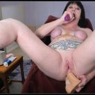 Dirtygardengirl - Dirty Play BdSM [Scat solo, shit, Smearing, Dildo masturbation, Dirty Ass, Masturbation,Piss, Vomiting]