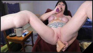 Dirtygardengirl – Dirty Play BdSM [Scat solo, shit, Smearing, Dildo masturbation, Dirty Ass, Masturbation,Piss, Vomiting]