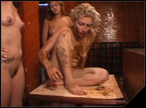 Scat Bar [Scat Lesbians,  shit, defecation,Toilet Slavery, Domination,Smearing, shit eating ,pissing,piss drinking]