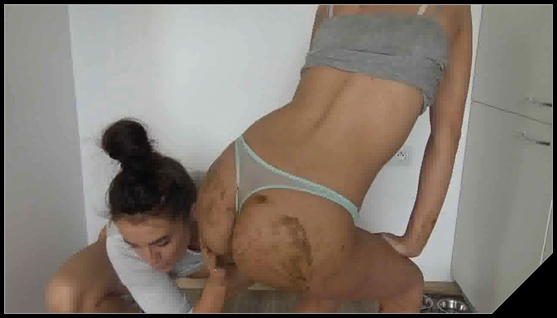 HotDirtyIvone Dirty Lesbians Scat Lesbians shit defecation SmearingBig Shit Shitty Ass Panty pooping cover - HotDirtyIvone - Dirty Lesbians [Scat Lesbians,  shit, defecation, Smearing, Panty pooping]
